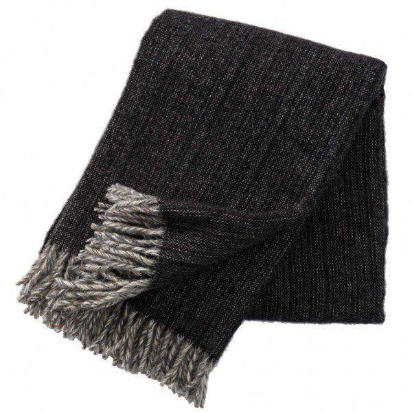 Klippan Bjork Black Blanket