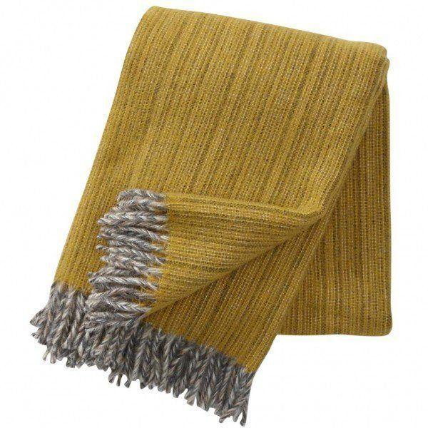 Klippan Bjork Yellow Blanket
