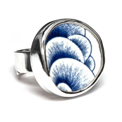 Sägen Korall Ring