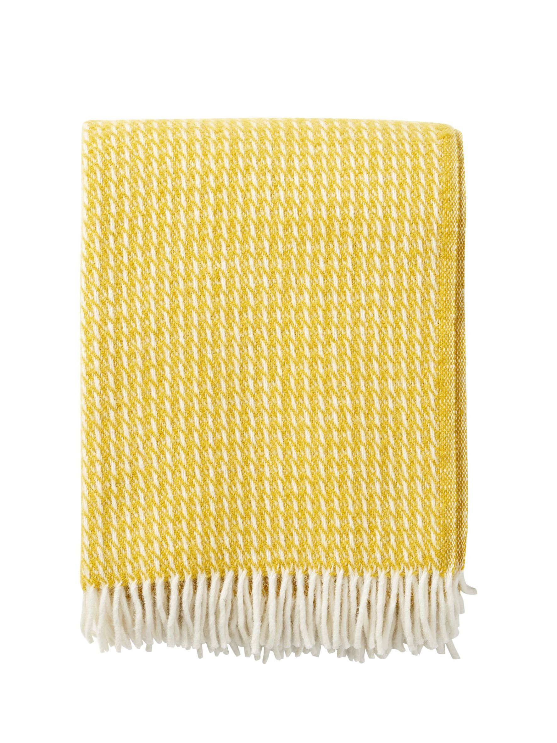 Klippan Line Yellow 100% Lambswool