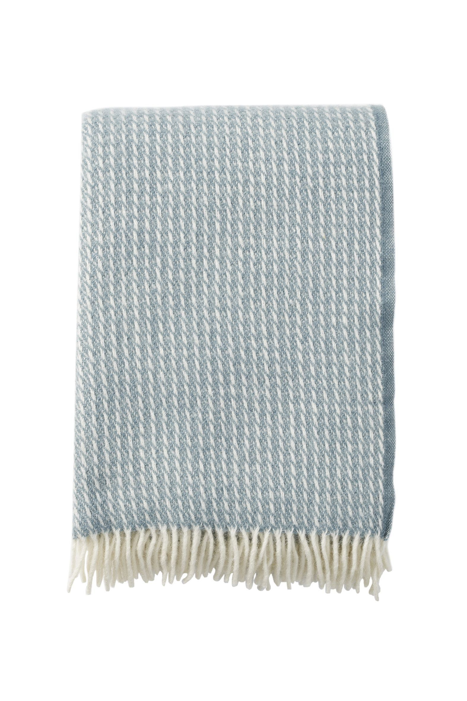 Klippan Line Dove Blue 100% Lambs Wool