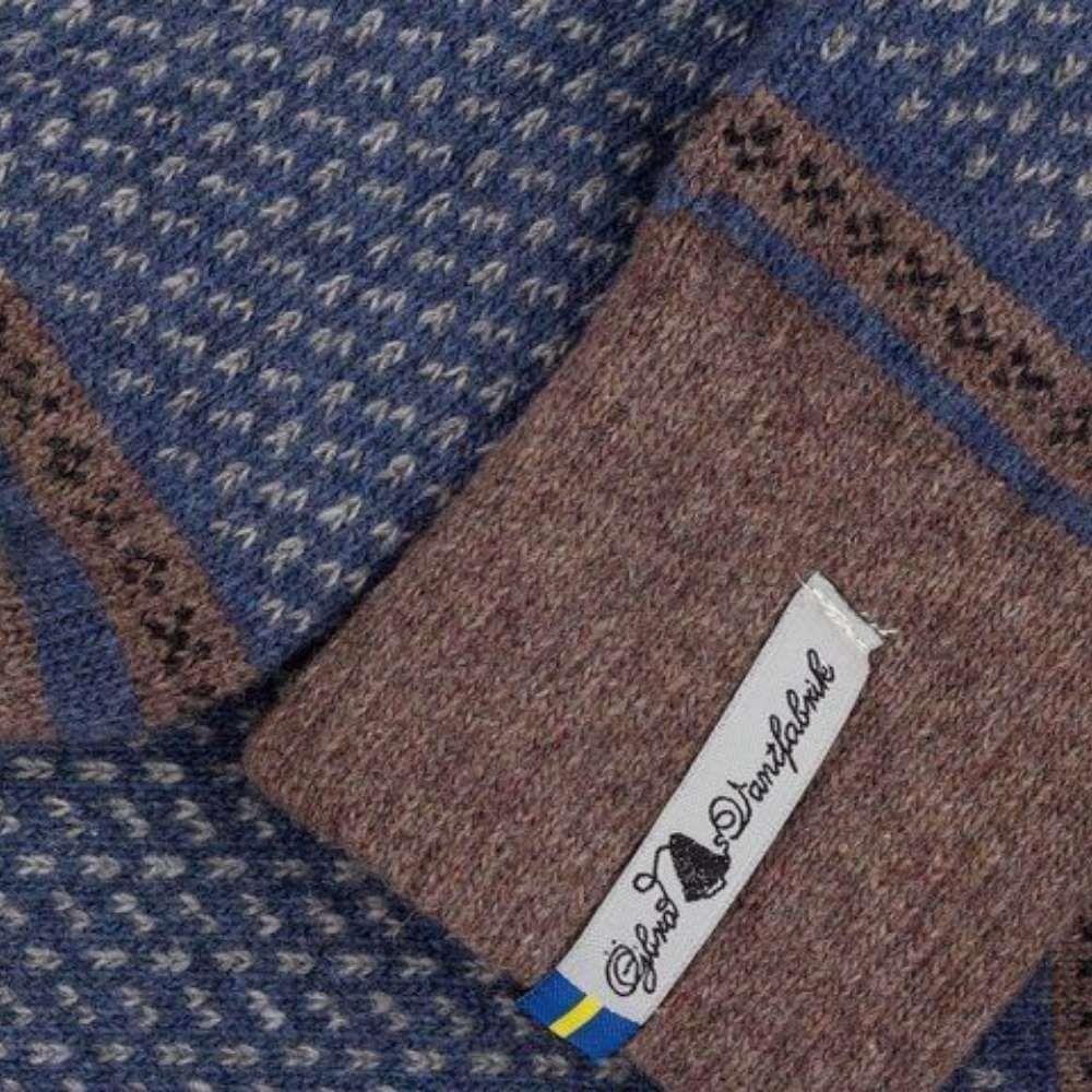 Öjbro Men's Skaftö Marin Wool Sock