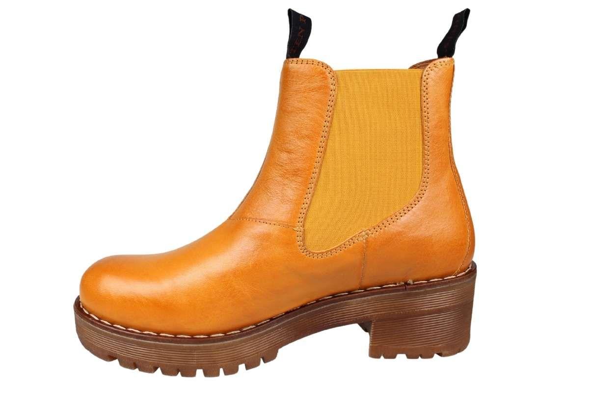 Ten Points Clarisse Chelsea Boot Yolk Mustard