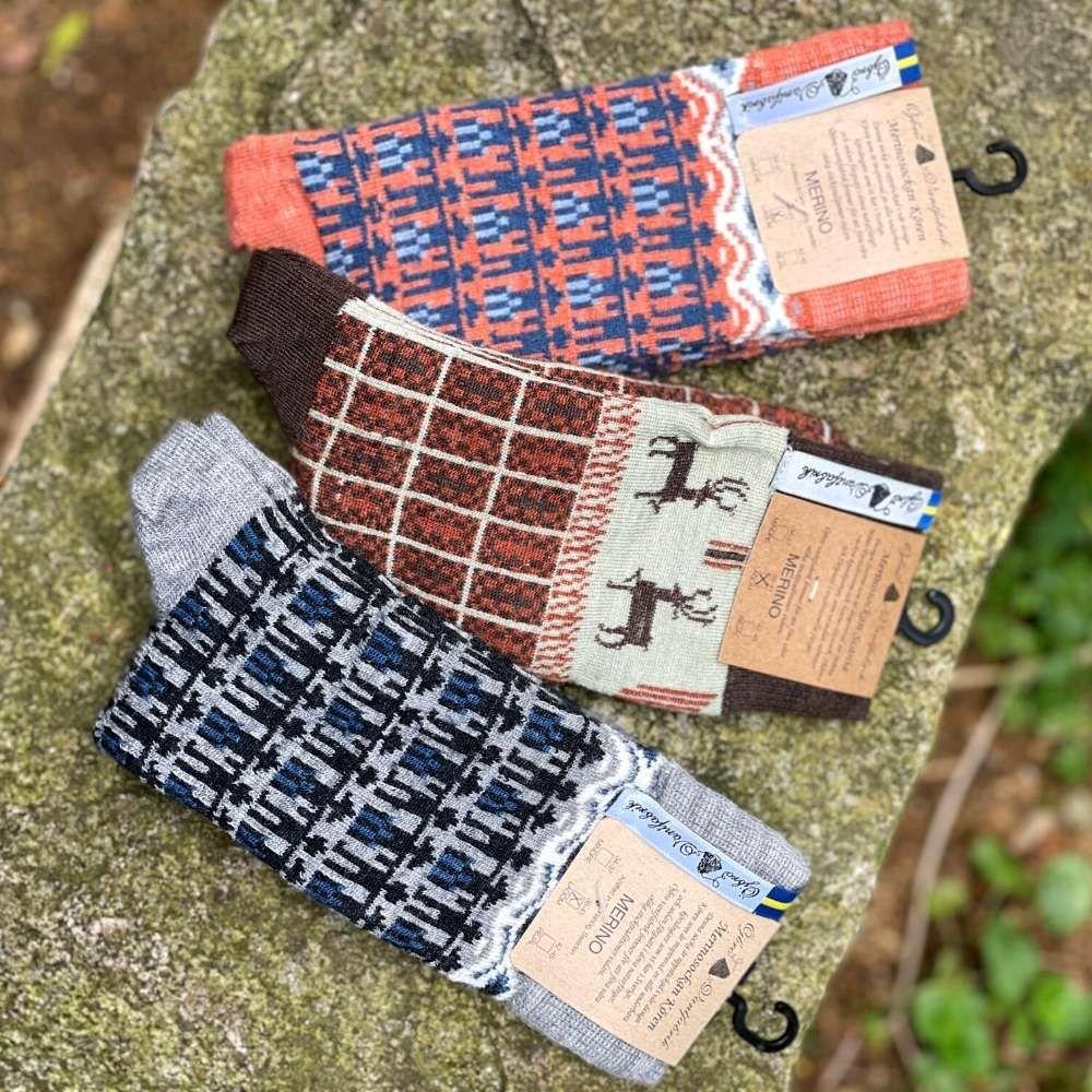 Öjbro Scania Mårten Merino Wool Sock