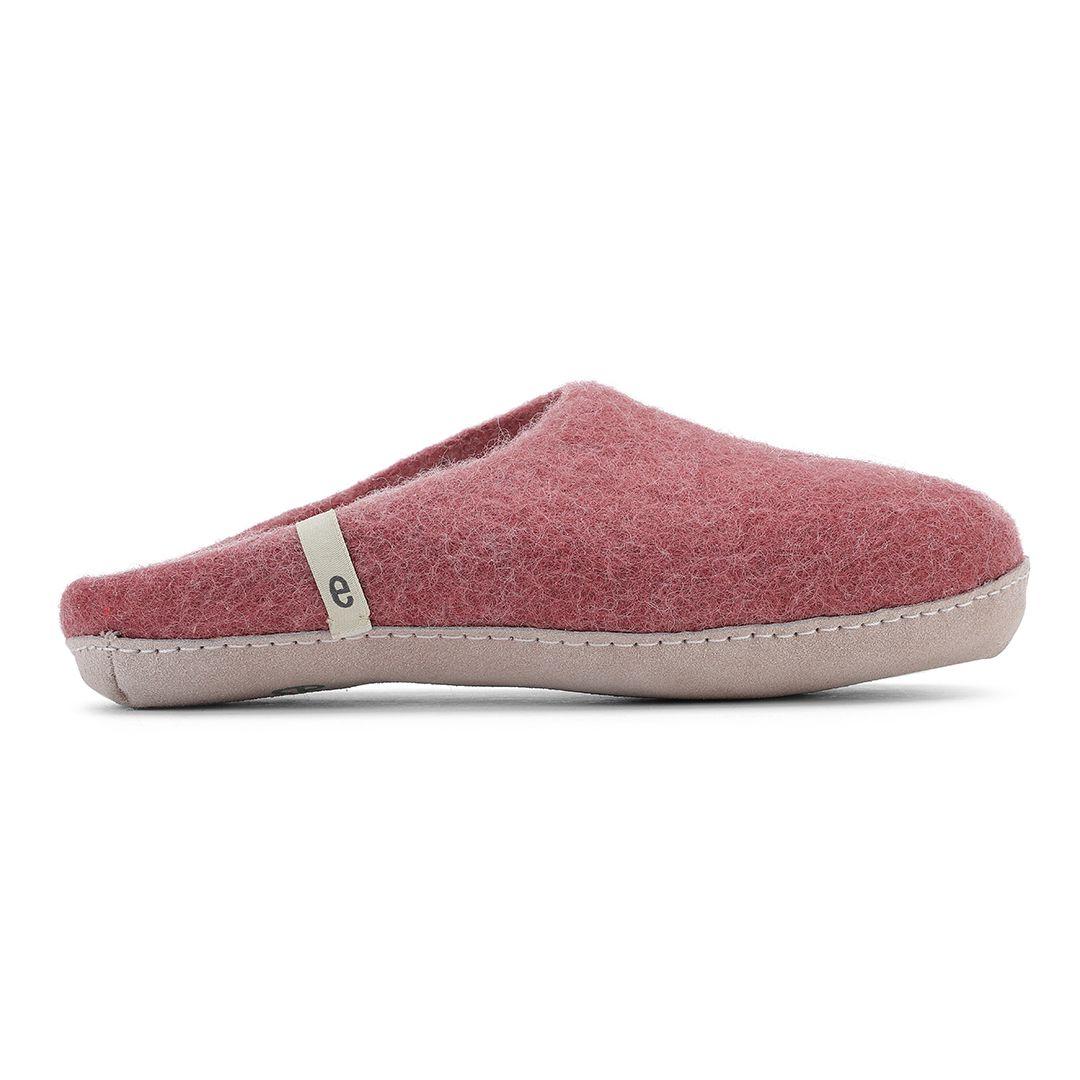 Egos Copenhagen Slip-on Indoor Shoe Simple in Dusty Rose