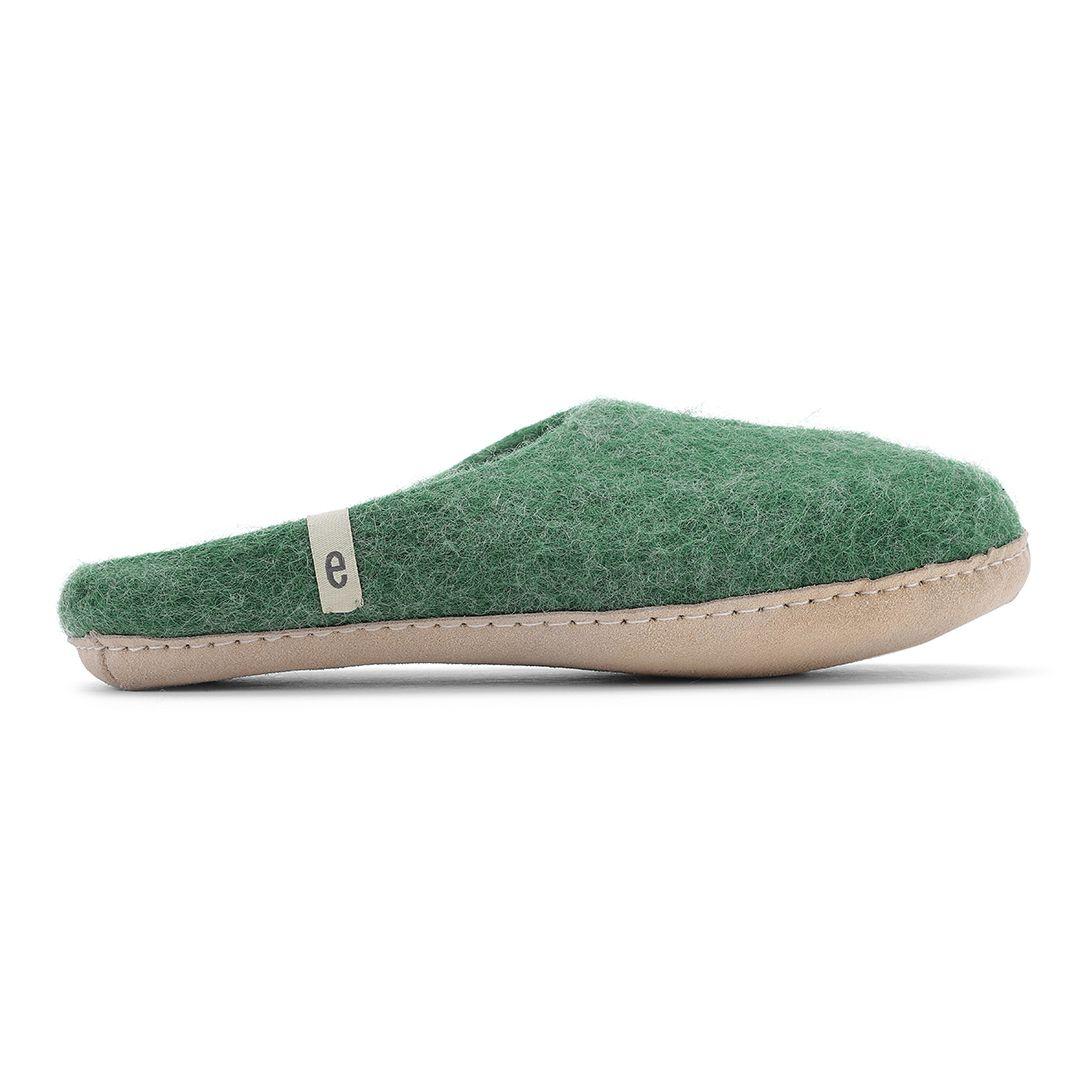 Egos Copenhagen Men's Slip-on Indoor Shoe Simple in Green