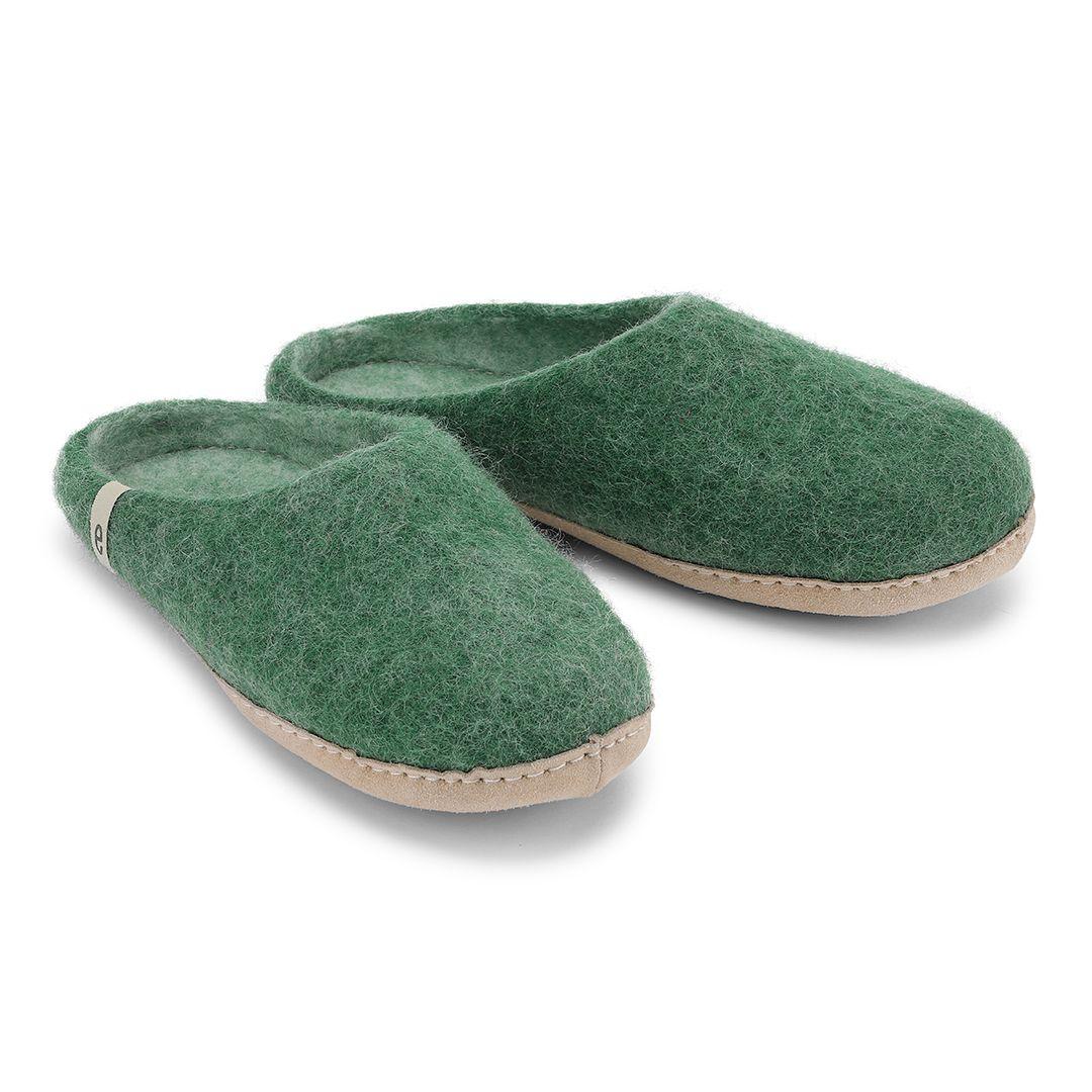 Egos Copenhagen Slip-on Indoor Shoe Simple in Green