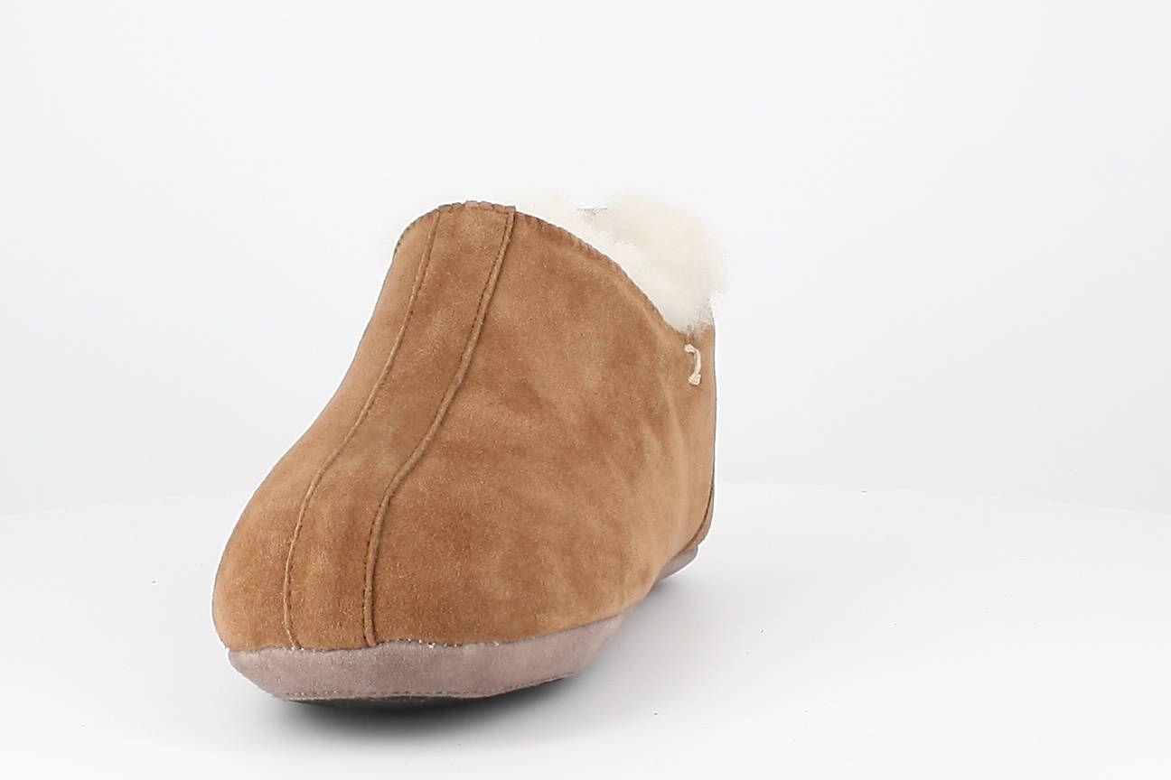 Sheepskin Stockholm Bootee Slippers in Chestnut
