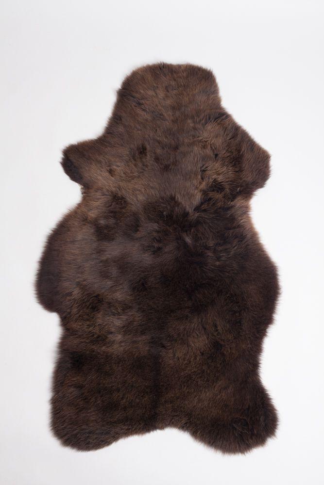 Dark Brown English Sheepskin M