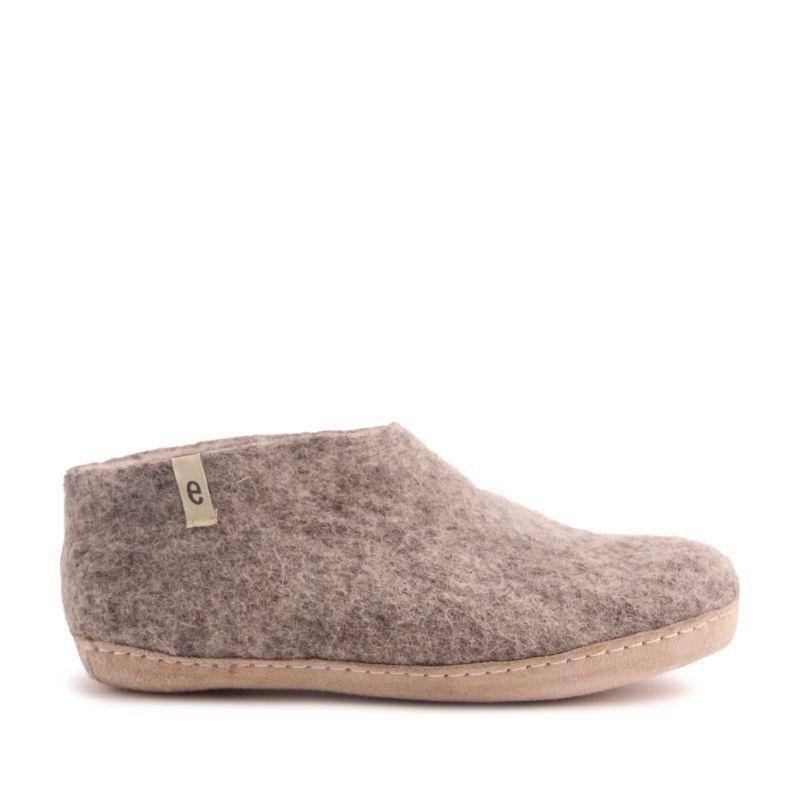 Egos Indoor Classic Shoe in Natural Grey