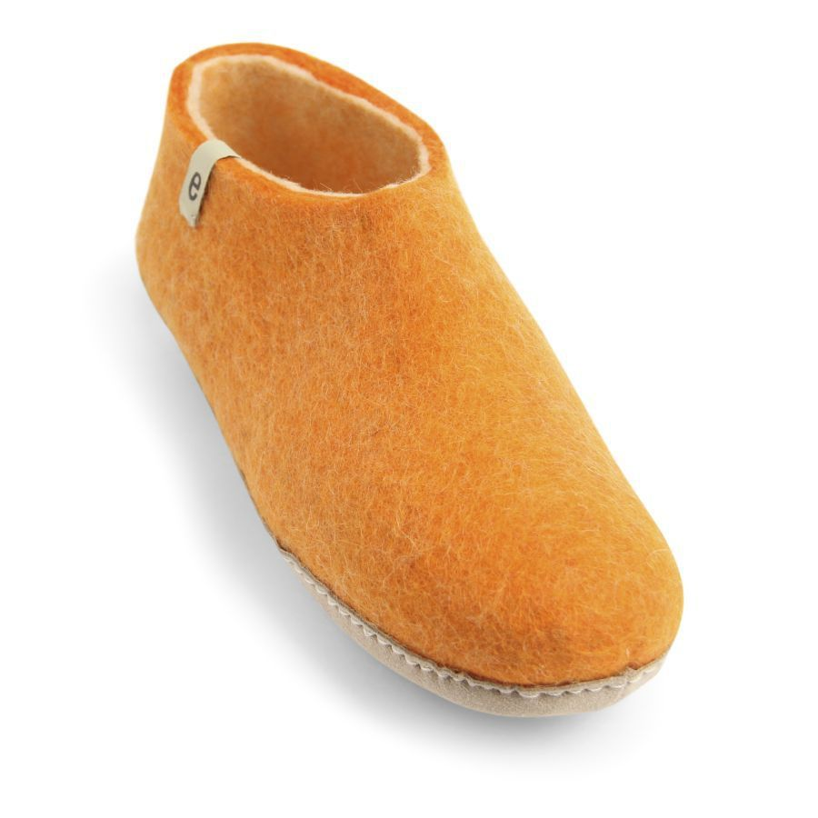 Egos Copenhagen Indoor Shoe in Orange
