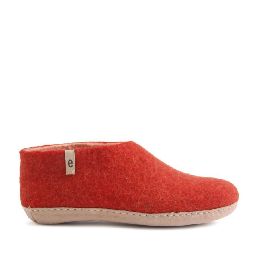 Egos Copenhagen Indoor Shoe in Rusty Red