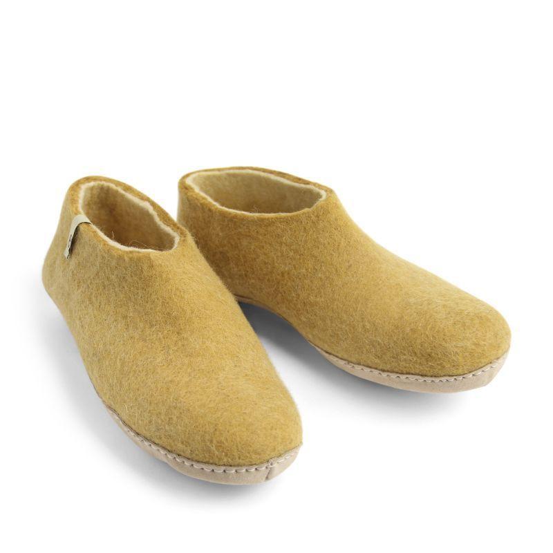 Egos Indoor Shoe in Mustard