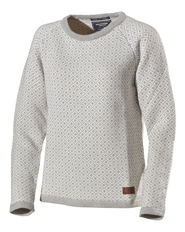 Holebrook Boel Jumper in Grey Melange