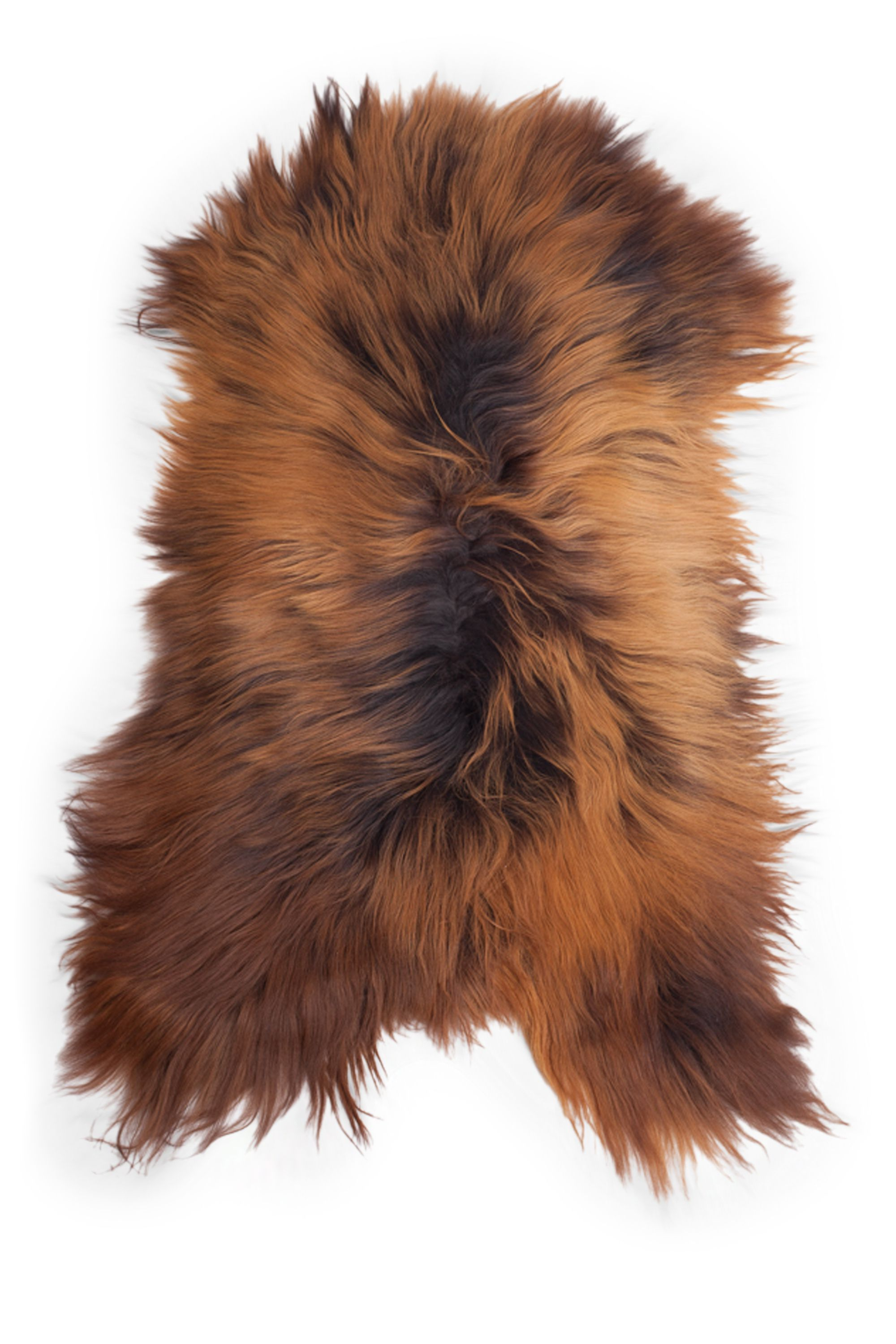 Blacky-Rusty Icelandic Sheepskin M