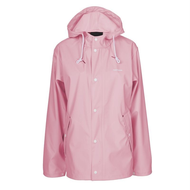 Tretorn Wings Short Raincoat in Soft Pink (Clothing)