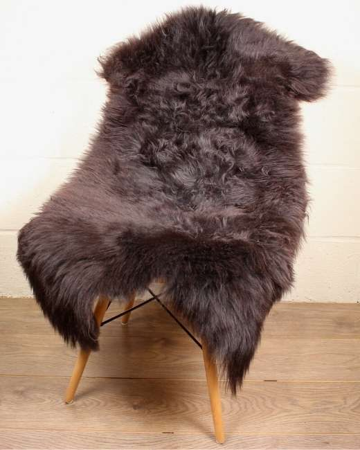Natural Shorn English Sheepskin M