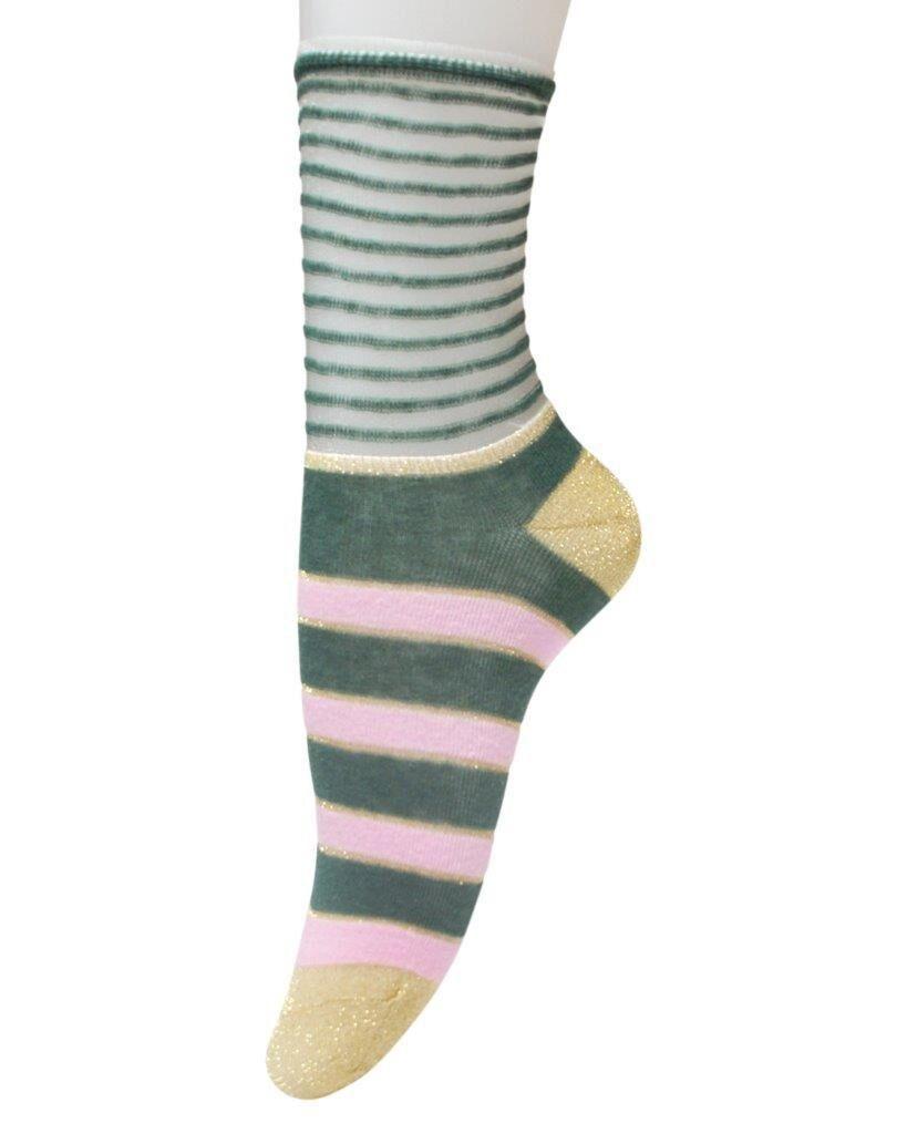 Unmade Copenhagen Ines Sock in Granite Green