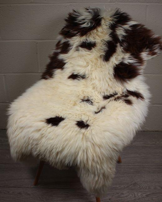 Natural Shorn English Sheepskin M