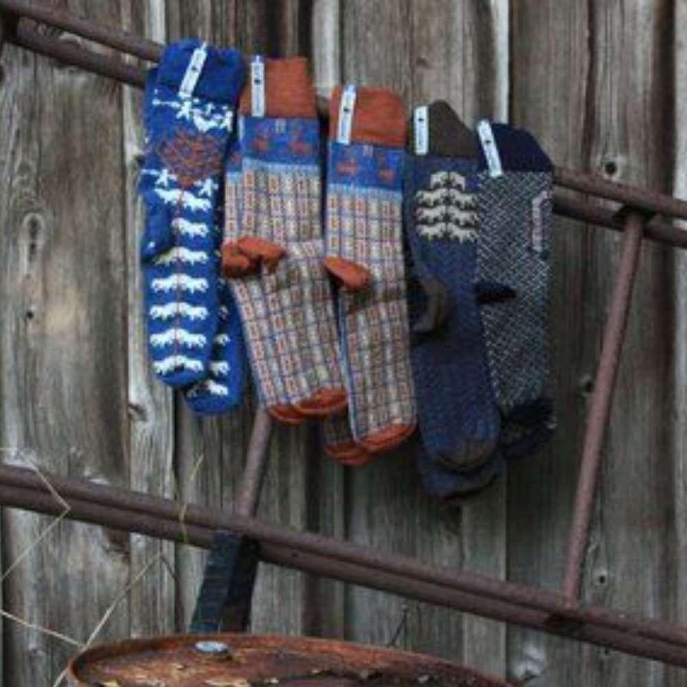 Öjbro Scania Märta Merino Wool Sock