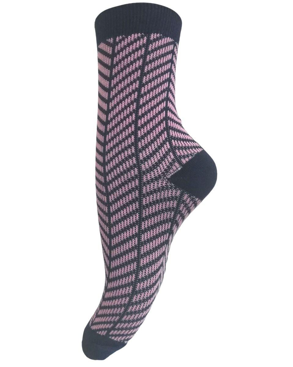 Unmade Copenhagen Razy Sock in Primrose Pink