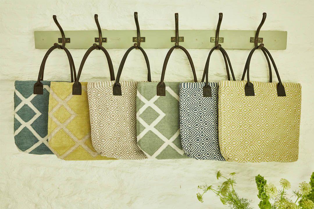 weaver green provence bag in gooseberry