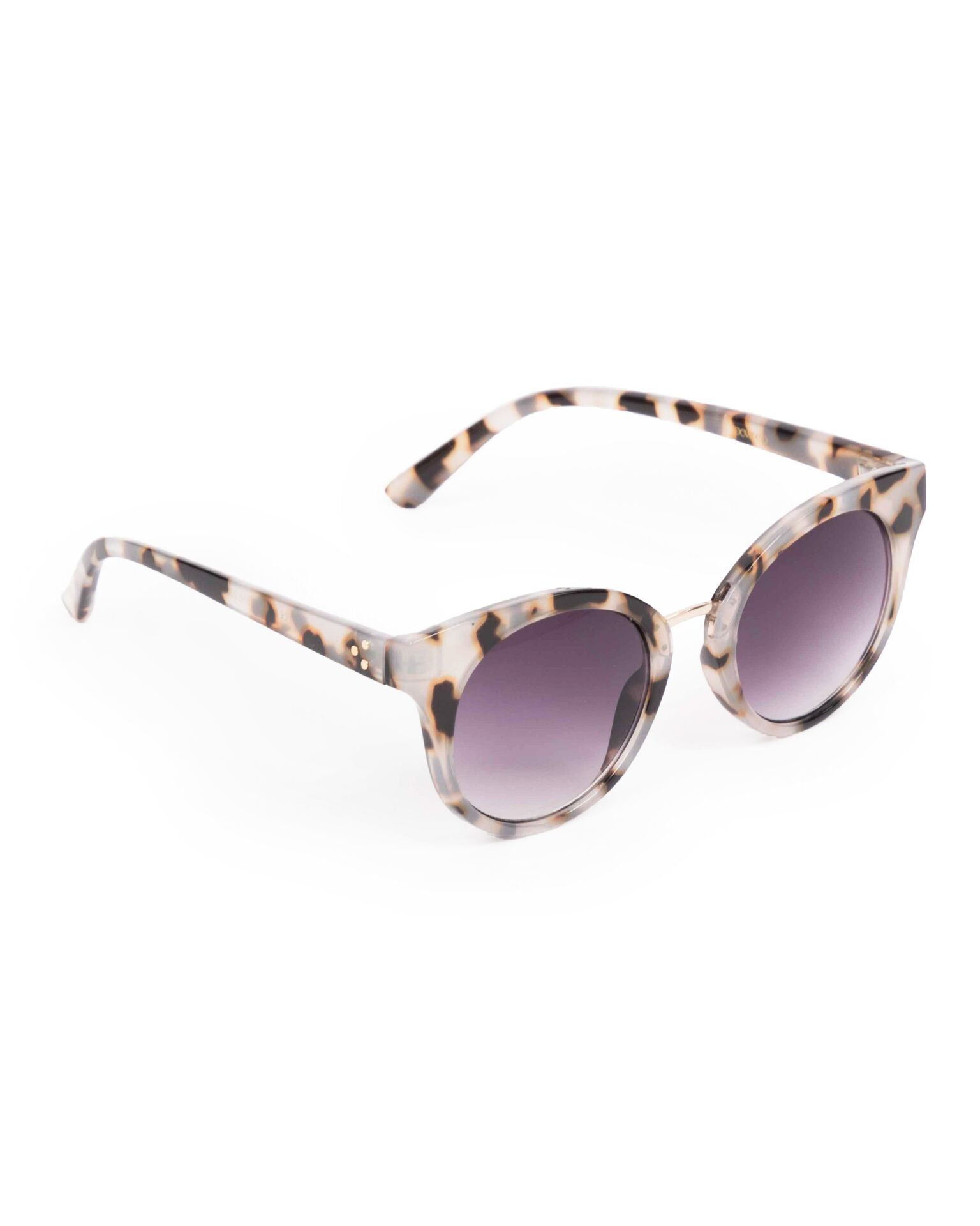 Powder Aurora Sunglasses in Tortoiseshell