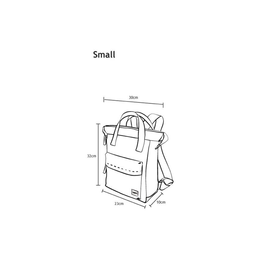 Roka Bantry B Small Bag with Stripe in Ink Vegan