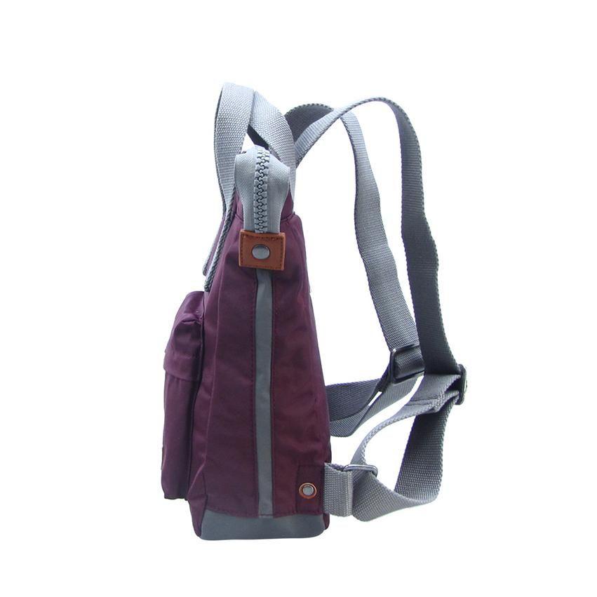Roka Bantry B Small Bag in Plum Vegan