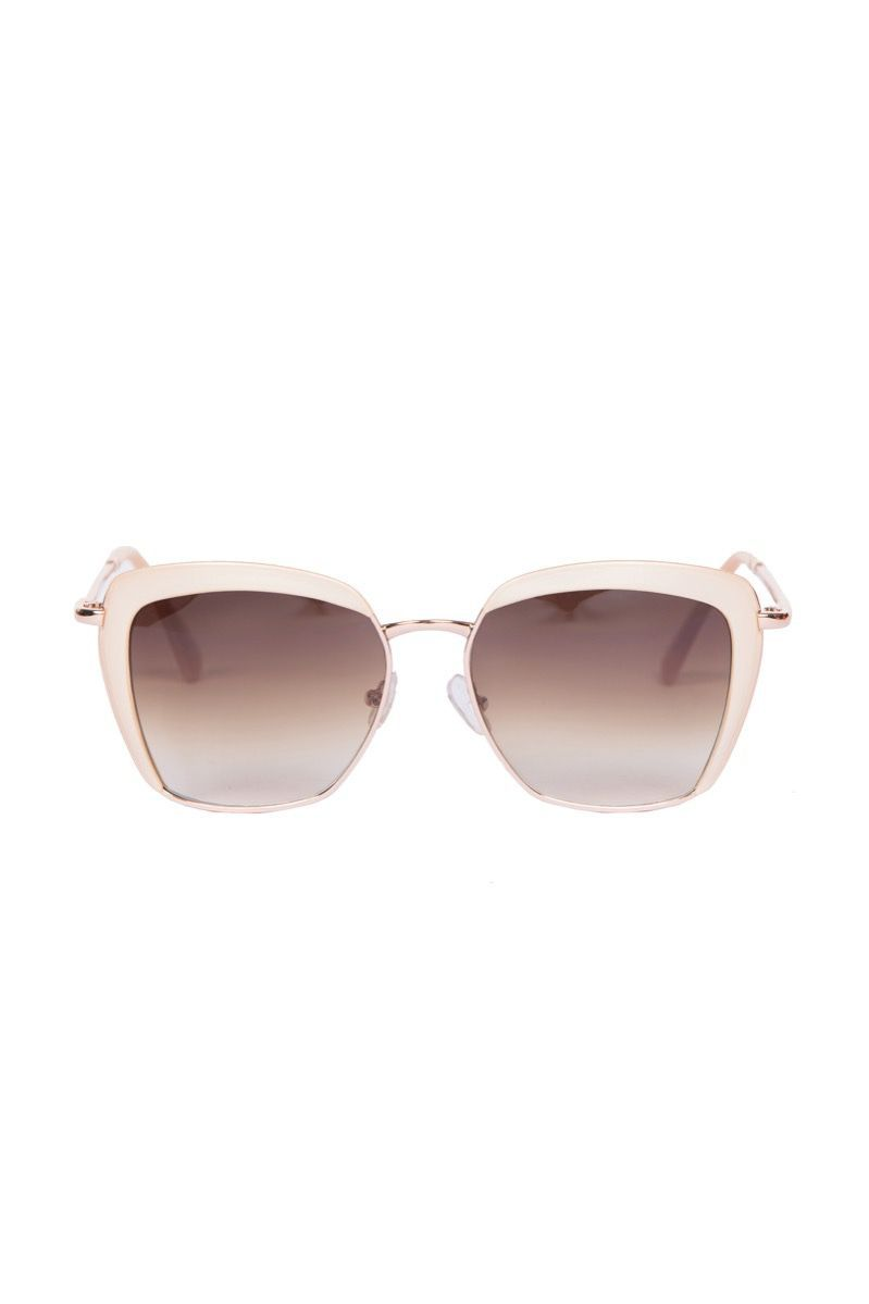 Powder Bardot Sunglasses in Pearl