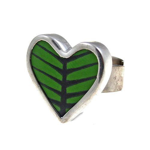Sägen Berså Heart Ring