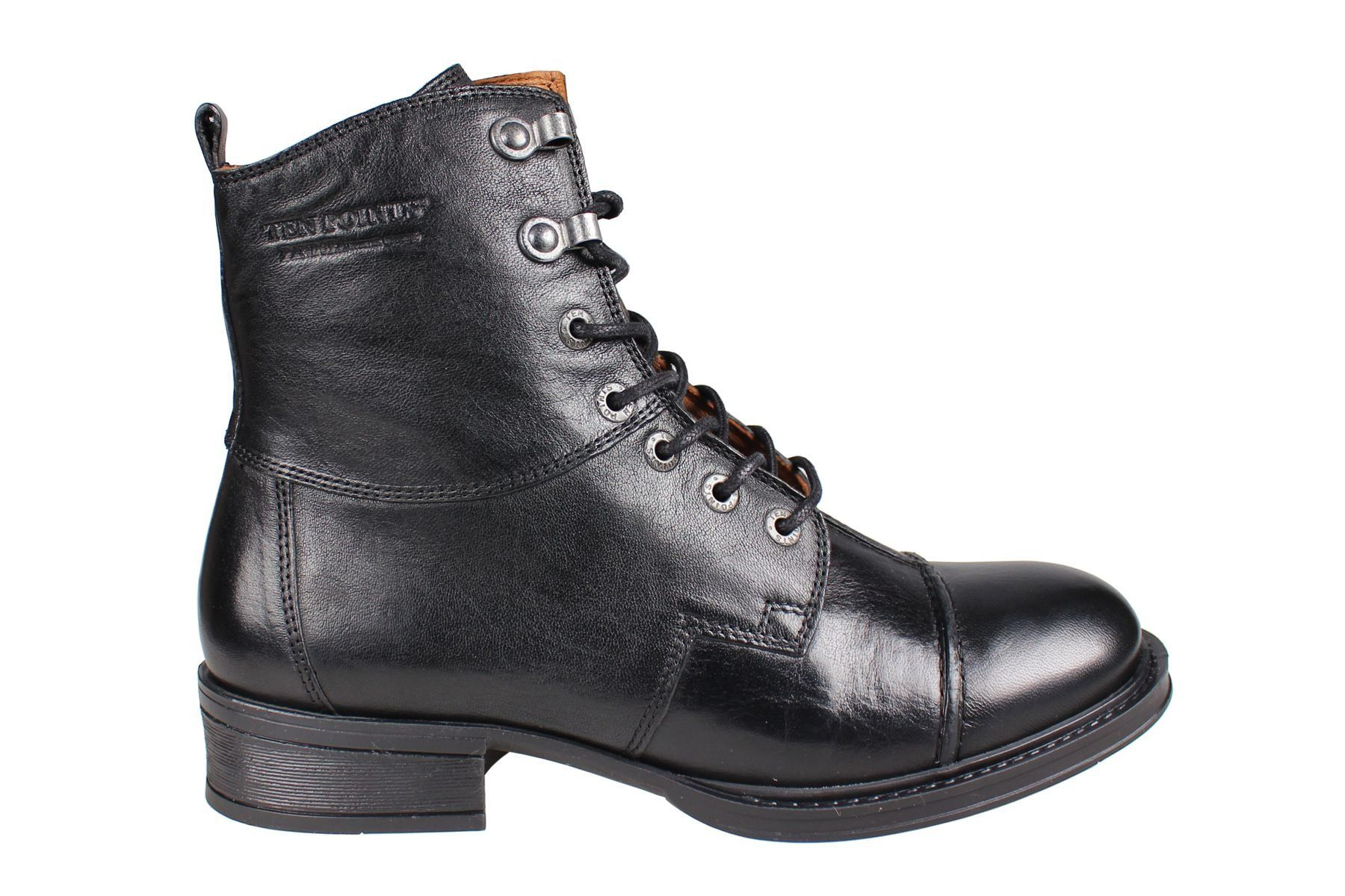 Pandora Lace-Up Boot in Black