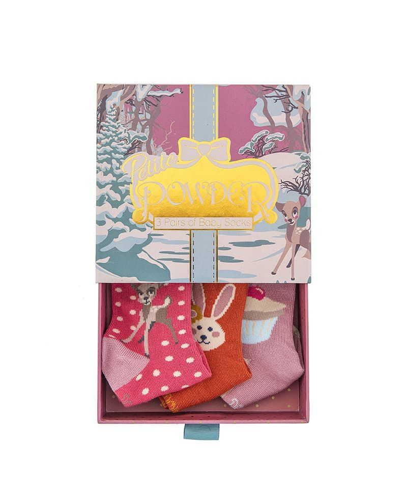 Powder Baby Girl's Bambi Sock Gift Box