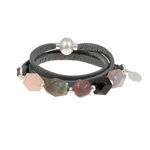 Time Travel Bracelet in Grey Z021