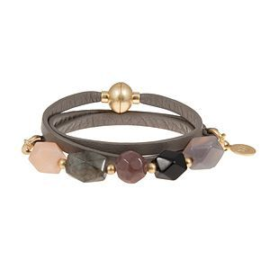 Time Travel Bracelet in Dark Taupe Z024