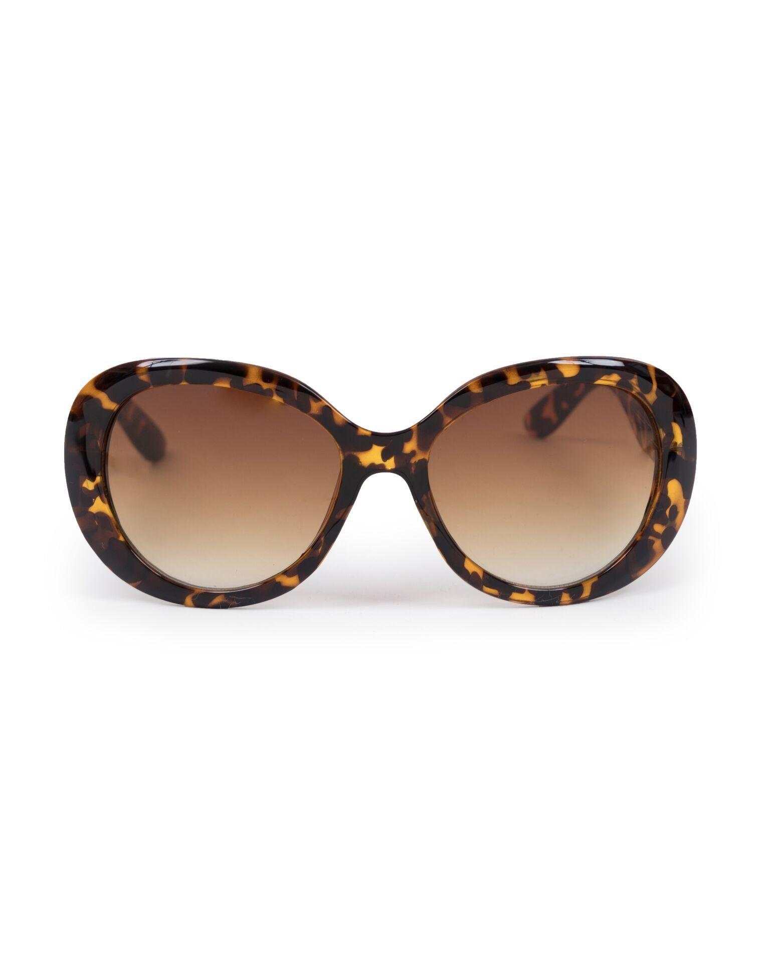 Powder Britt Sunglasses in Tortoiseshell