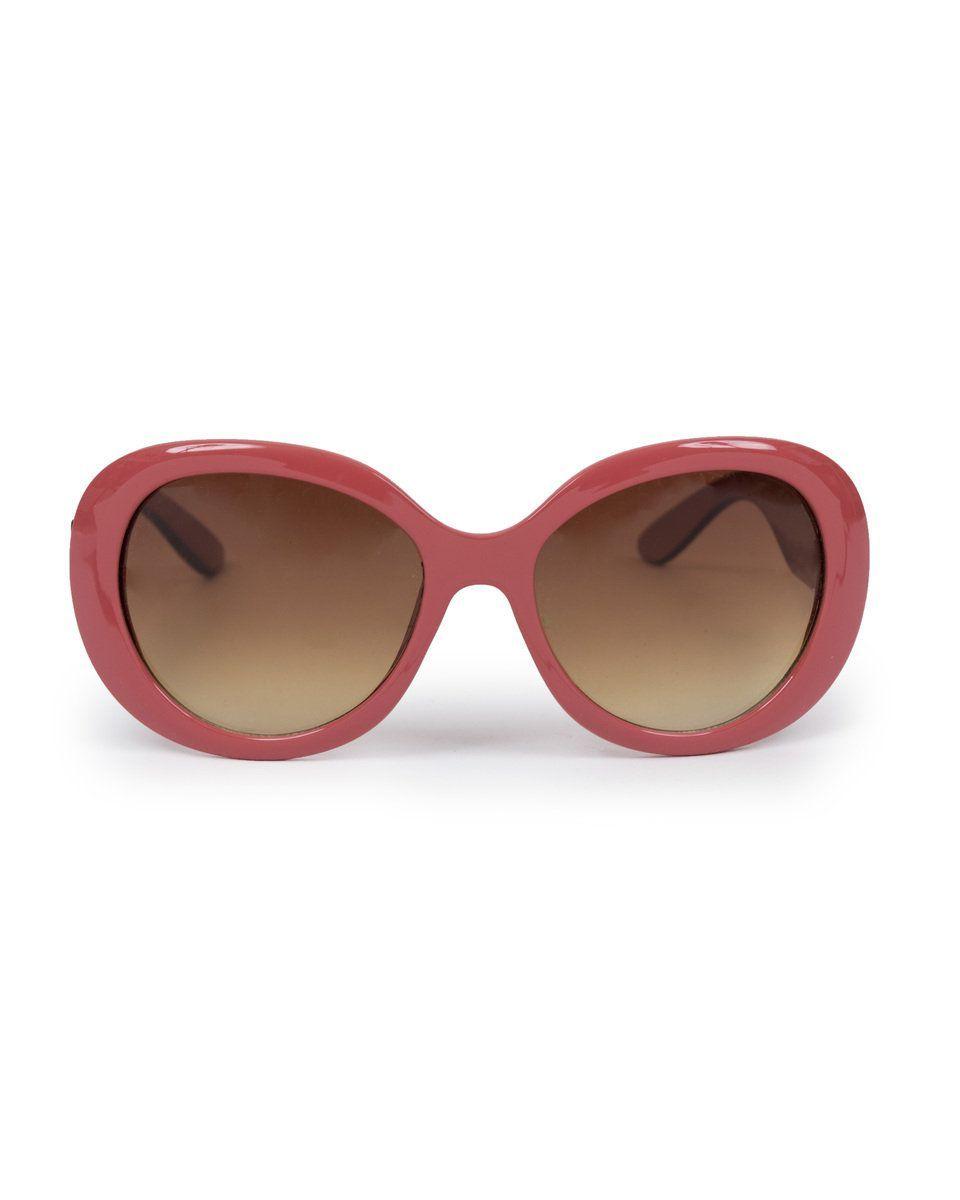 Powder Britt Sunglasses in Brick
