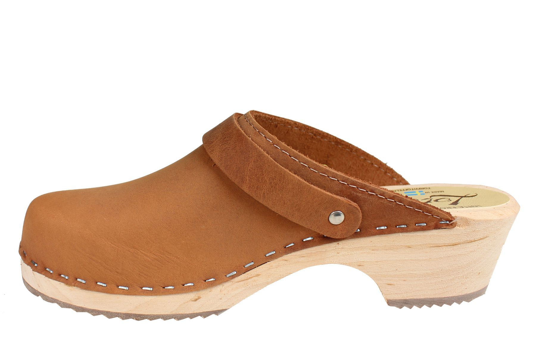 Classic brown oiled nubuck with strap Seconds