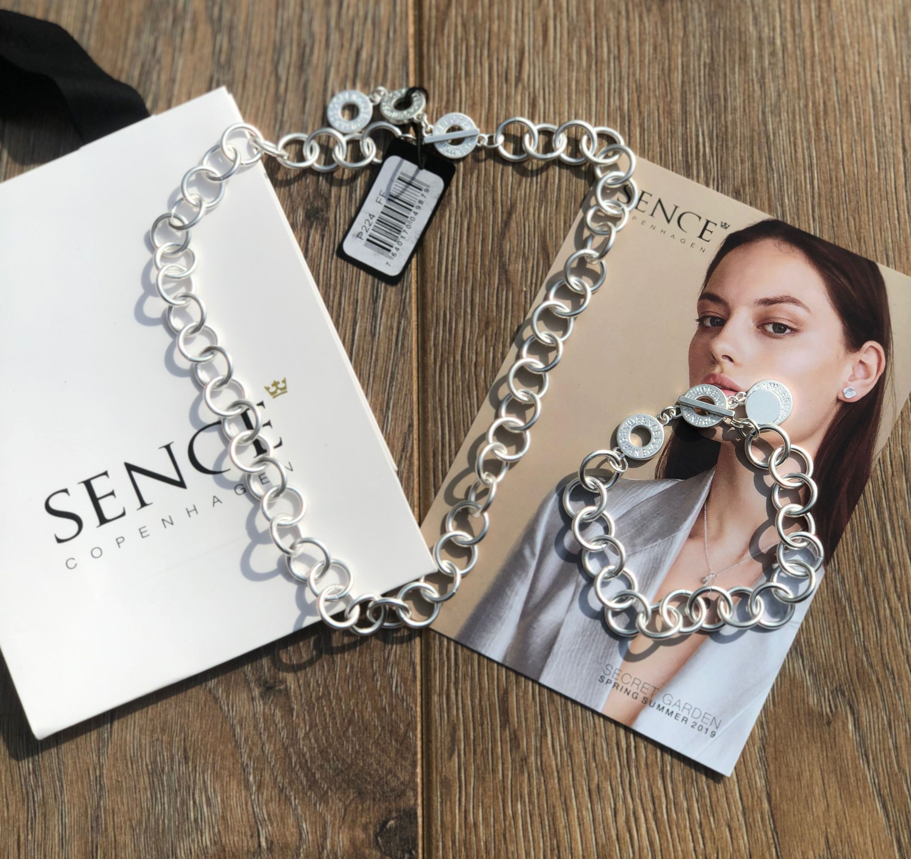 Sence Essentials Matt Silver Chain Necklace