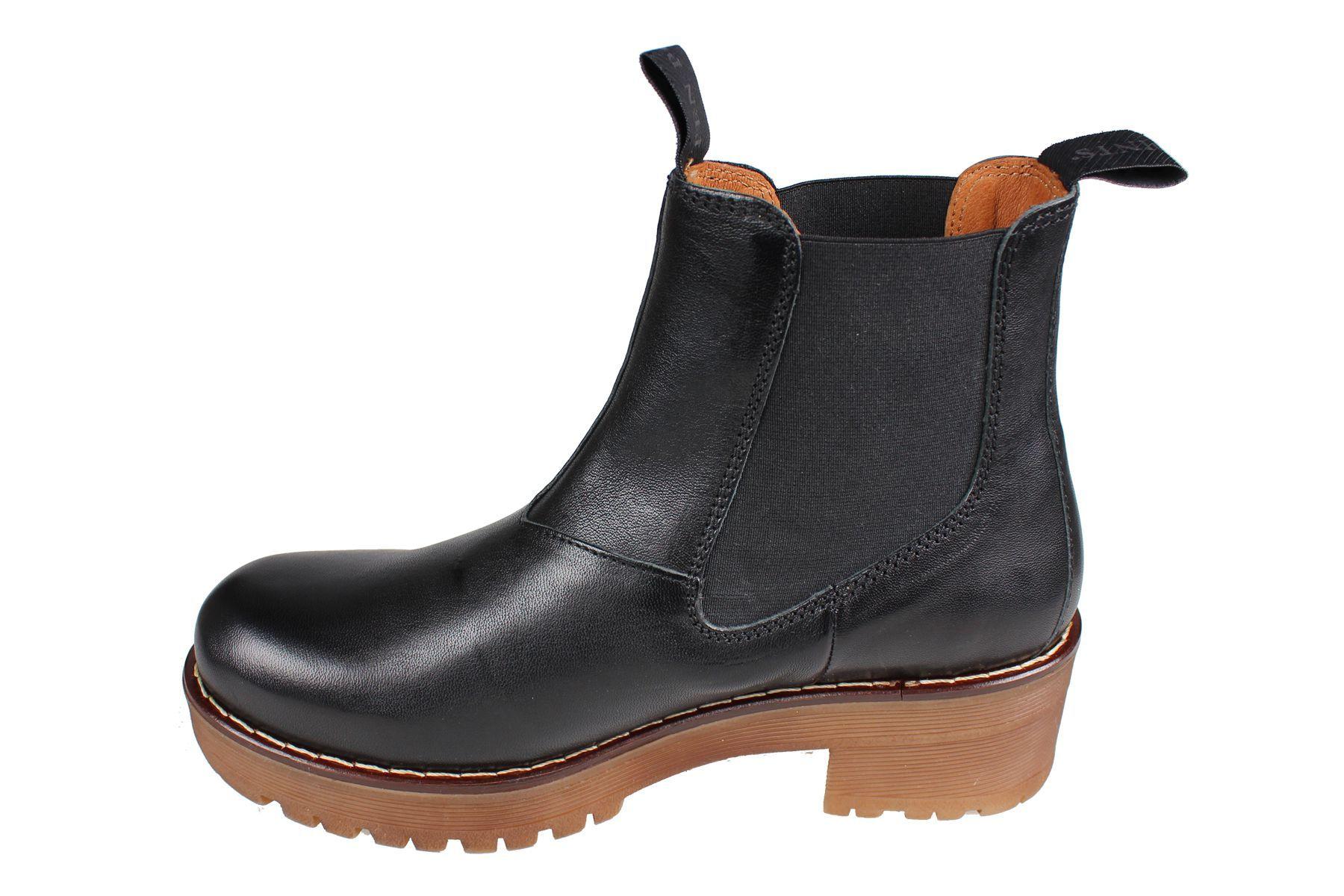 Clarisse Chelsea Boot Black