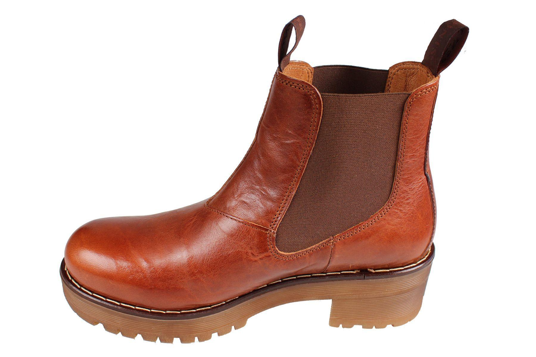 Clarisse Chelsea Boot Cognac
