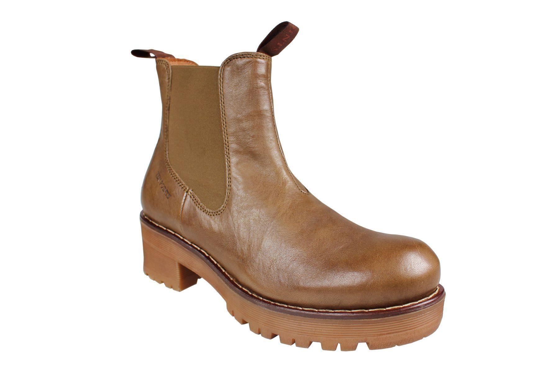 Clarisse Chelsea Boot Khaki