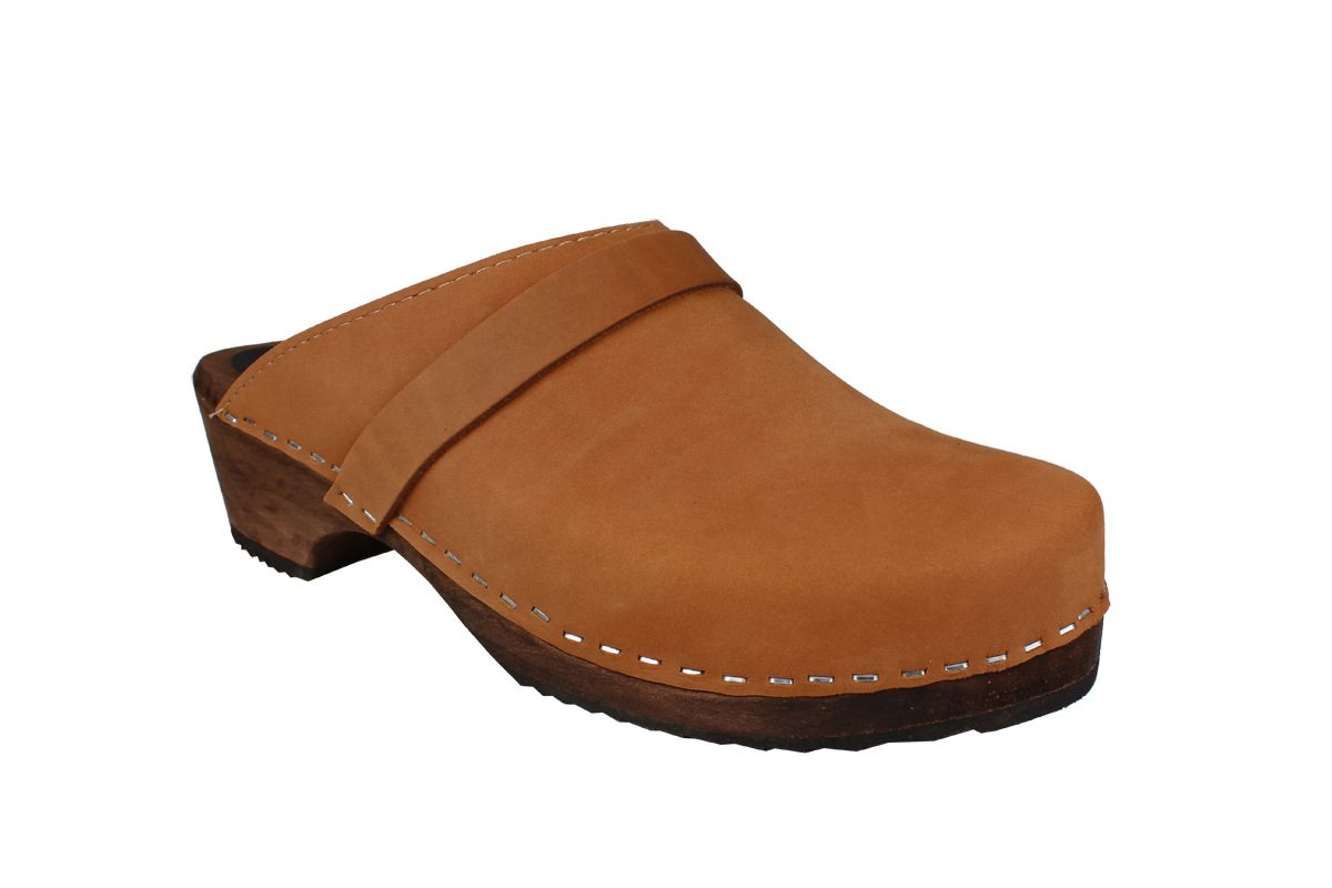Classic Brown Oiled Nubuck on Brown Base