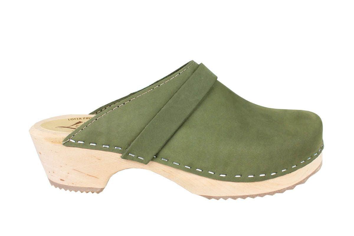 Classic Green Oiled Nubuck