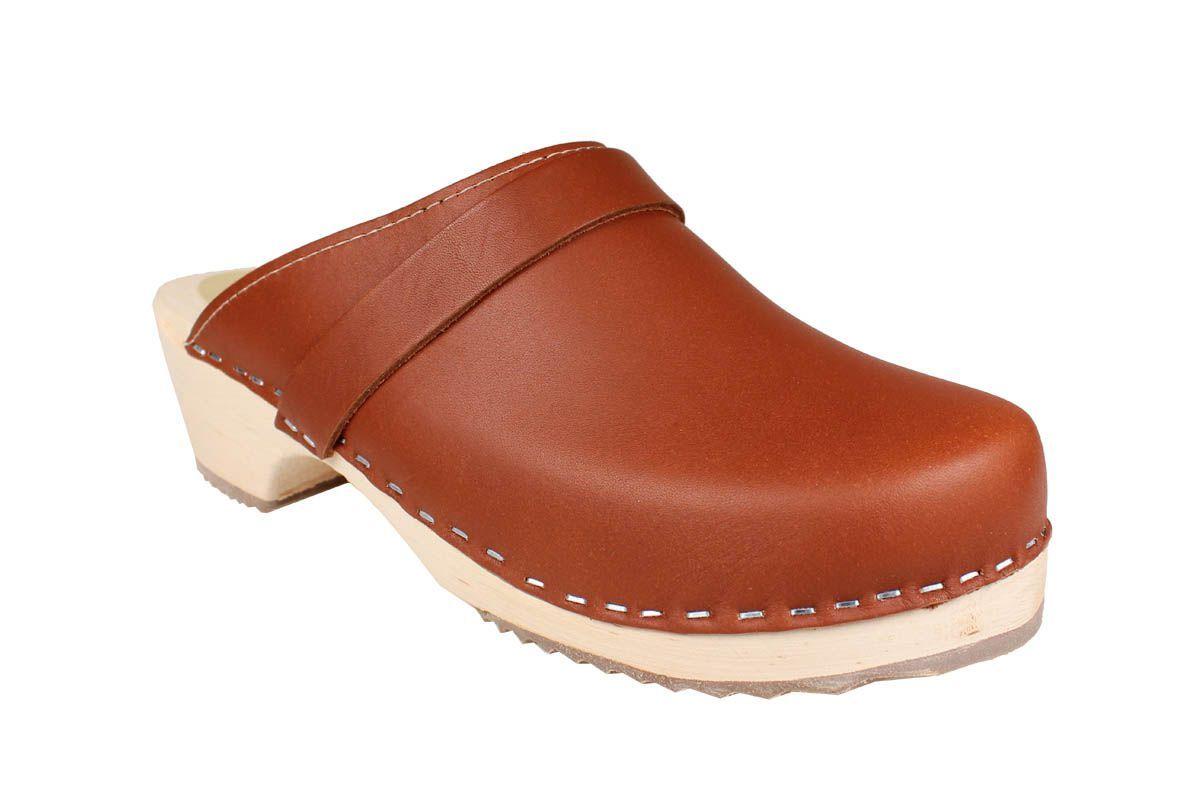Classic Tan Clogs