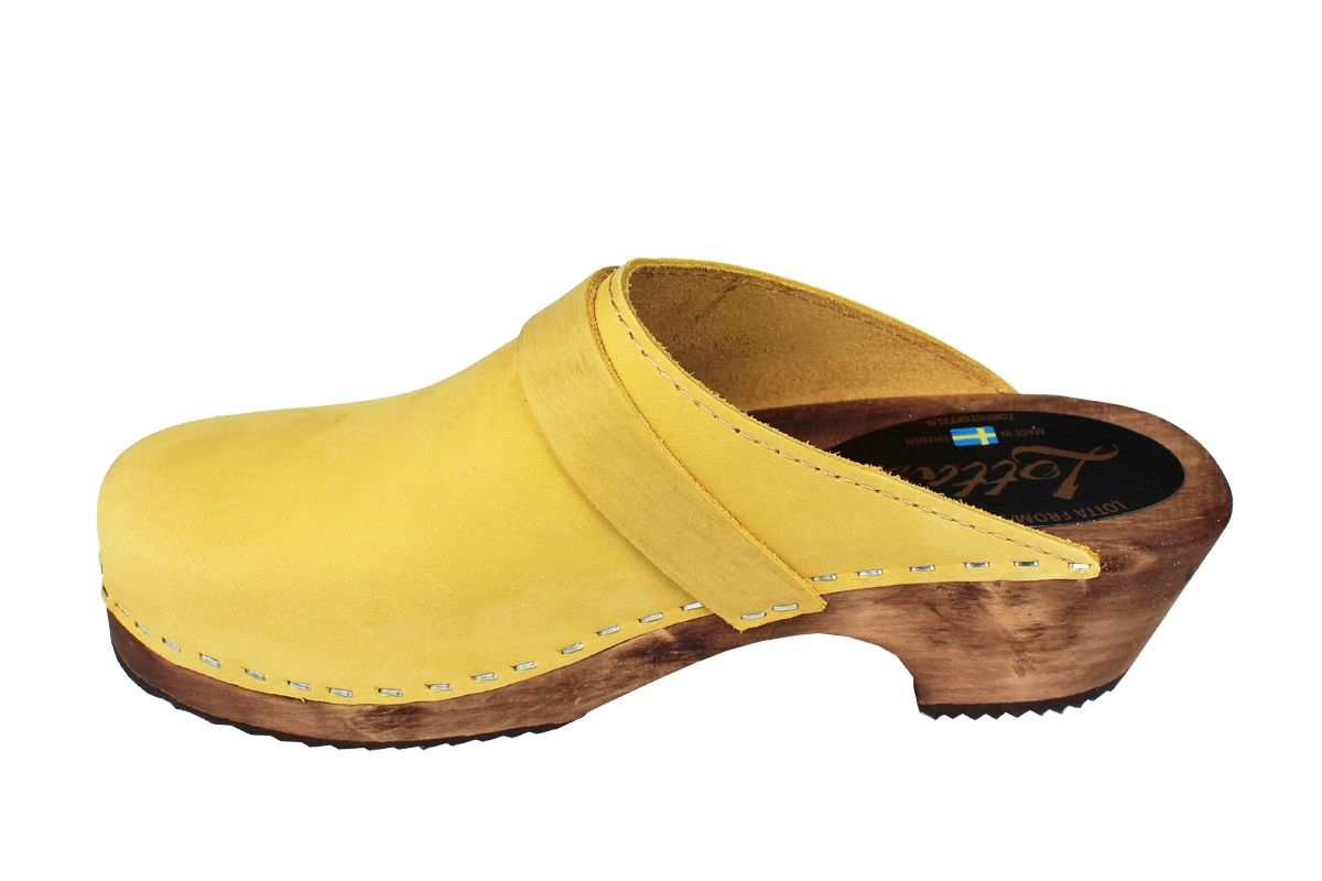 Classic Yellow Oiled Nubuck on Brown Base Seconds
