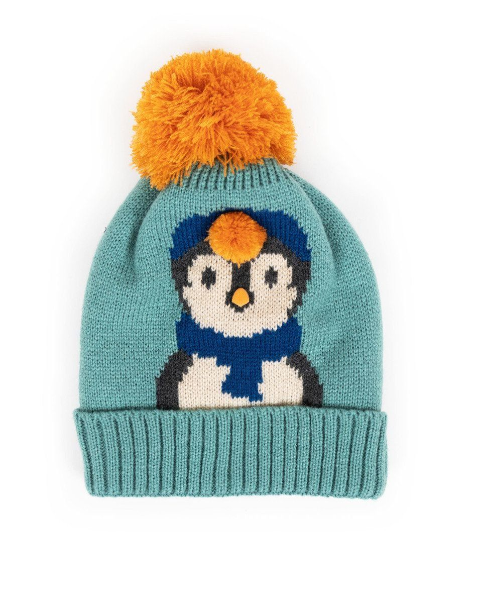 Powder Cosy Kids Penguin Hat in Ice