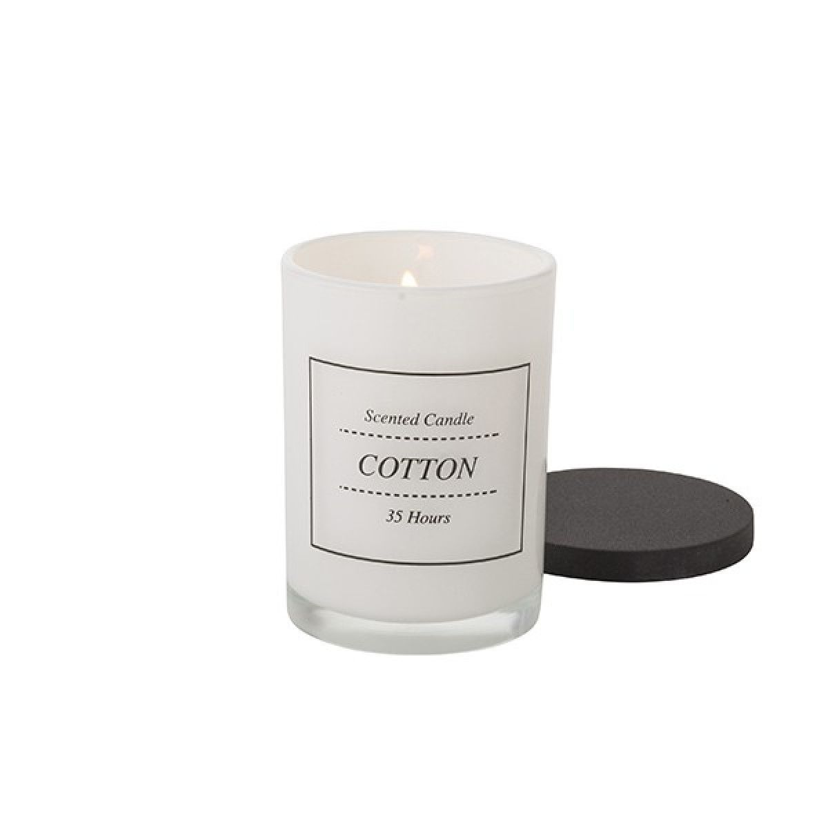 Bahne White Cotton Scented Candle