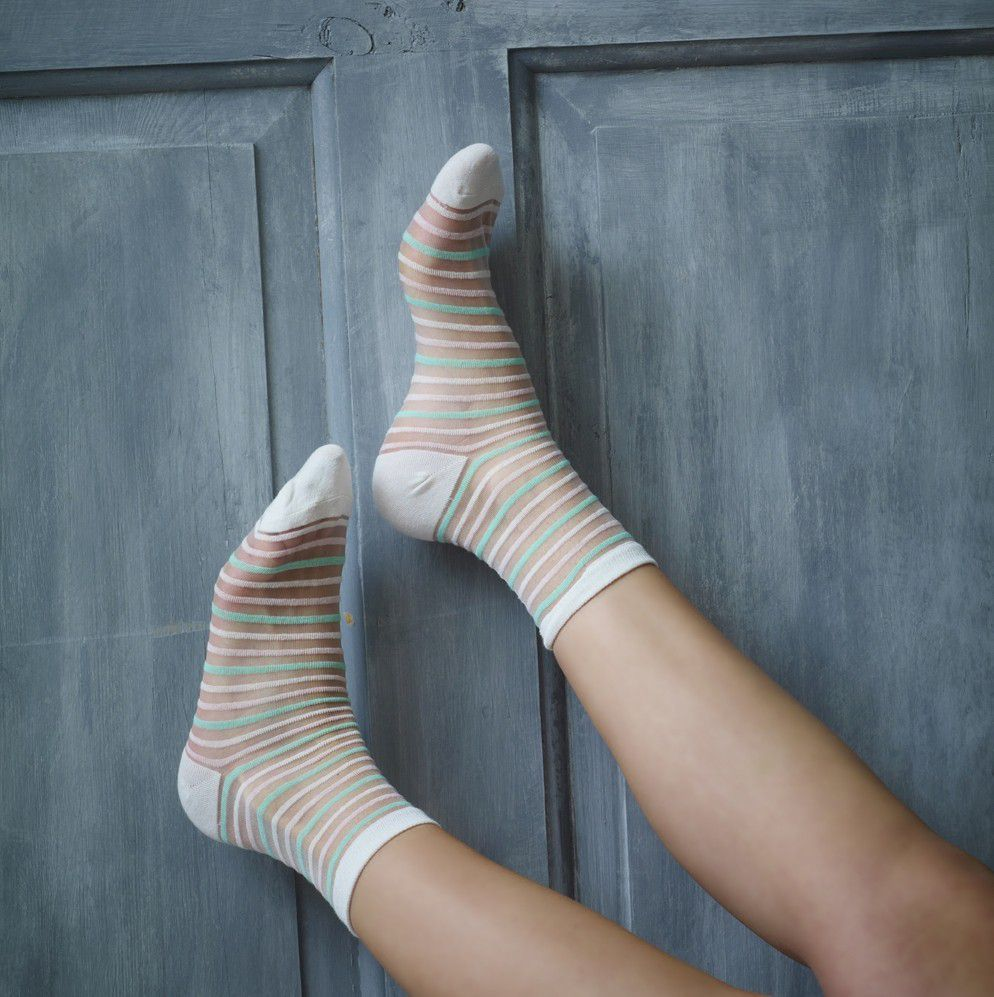 Summer Breeze Sheer Socks X 2