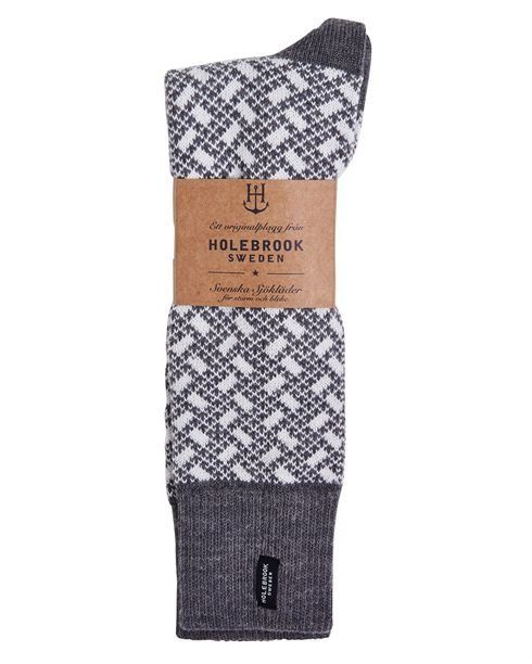 Holebrook Men's Donso Raggsocka in grey pack